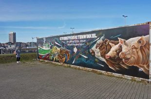 street art in Oostende